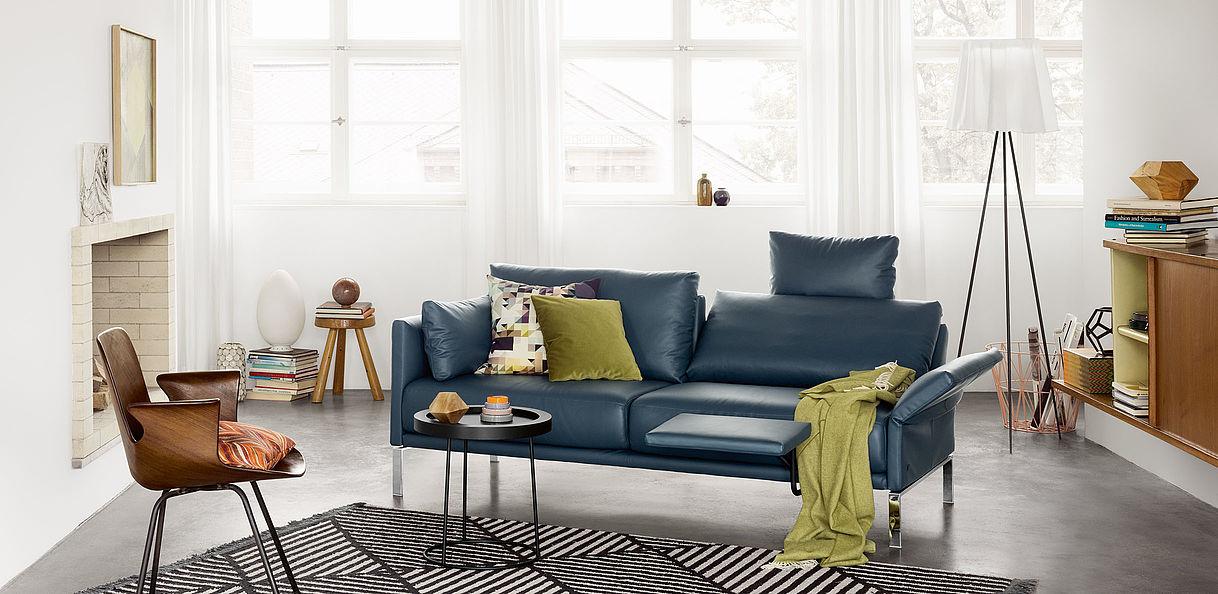 canap rolf benz cara meubles bise. Black Bedroom Furniture Sets. Home Design Ideas