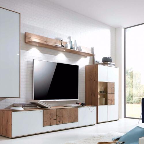hartmann wohnwand perfect hartmann talis v fnfteilig aus. Black Bedroom Furniture Sets. Home Design Ideas